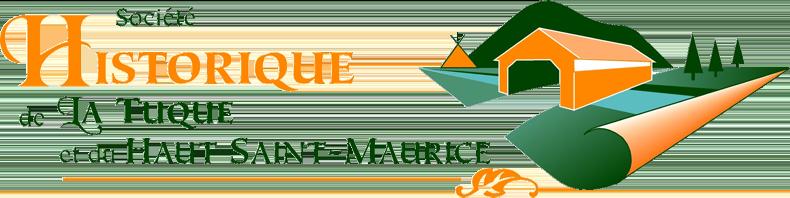 Logo de la Société historique deLaTuque et du Haut St-Maurice.